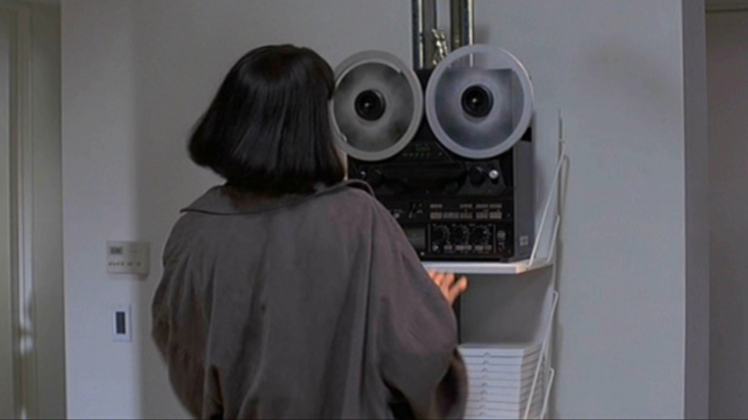 Girl, You'll Be a Woman Soon – Mia's reel to reel tape deck in Pulp Fiction