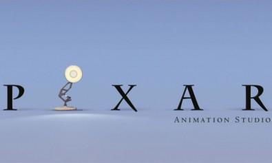 Pixar production logo featuring the Luxo lamp © Pixar animations
