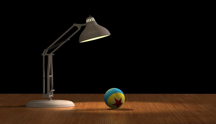 The Pixar Luxo Lamp