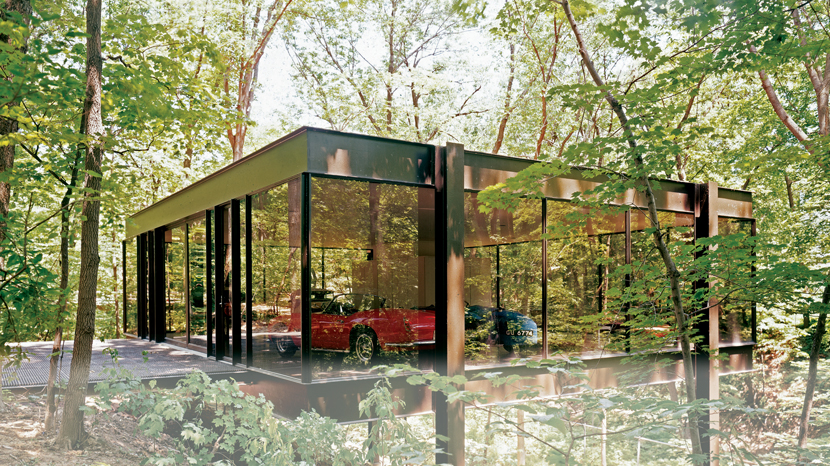 Modernist Glass House Featured In Ferris Bueller S Day Off