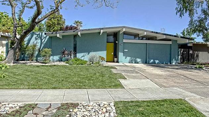 A typical Joseph Eichler house