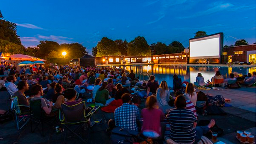 Uks Largest Open Air Cinema Film And Furniture