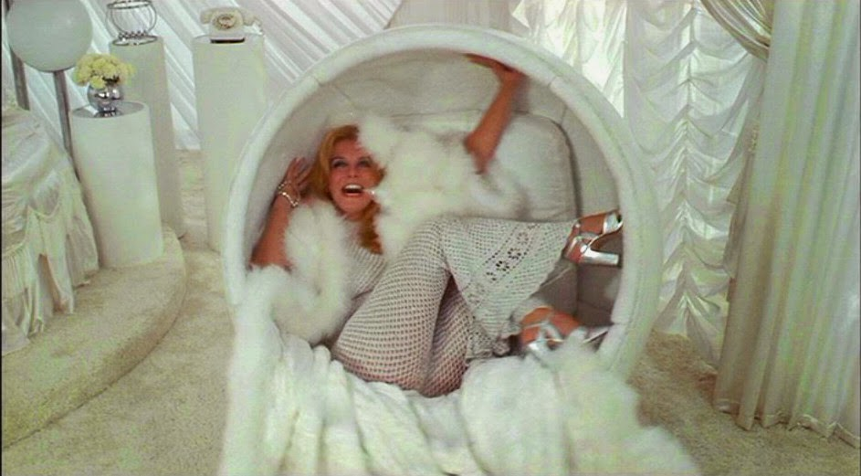 Ann Margret in a Ball Chair in Tommy (1975)