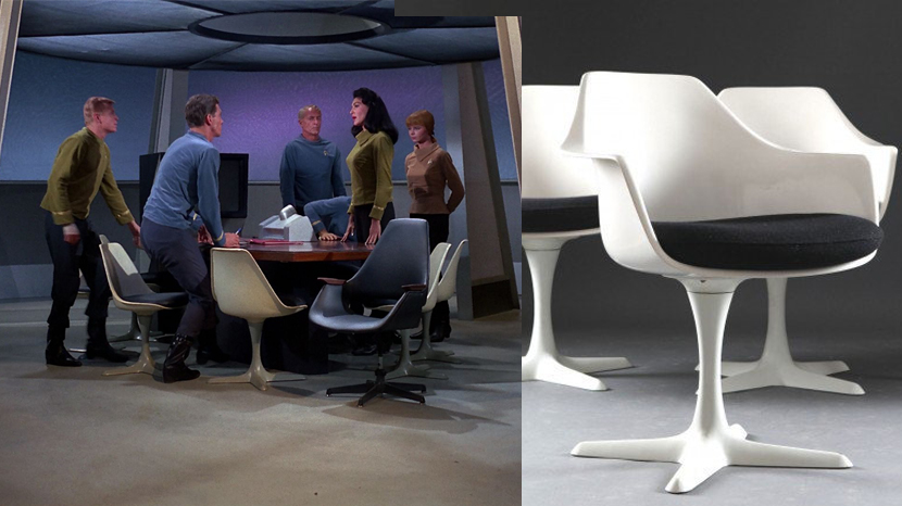 The Tulip Chair In Star Trek Putting The Record Straight