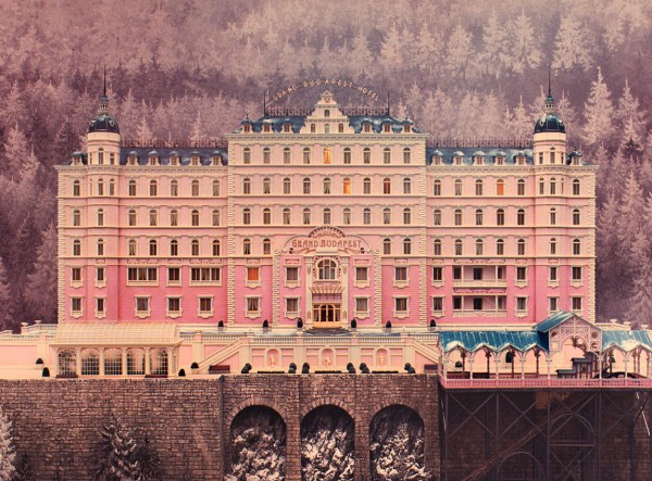 The Grand Budapest Hotel mug by Lorena G