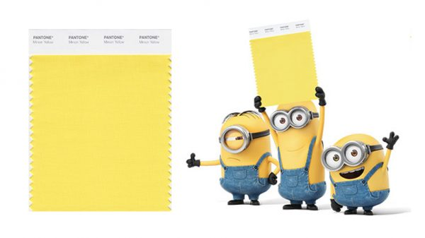 Minion Yellow: Pantone's first colour to be influenced by a movie