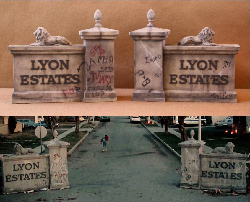 Back To The Future Lyon Estates Gates Film And Furniture