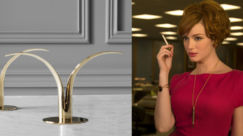 Lily Candlestick from Mad Men