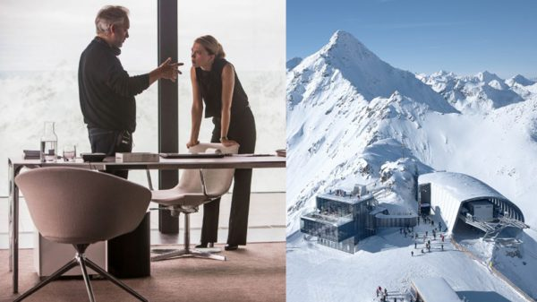 More Spectre chairs: The graceful office chairs in Madeleine Swann's alpine clinic