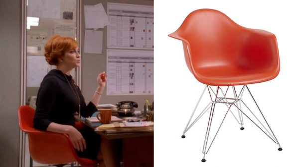 Vitra Eames DAR chair (Mad Men)