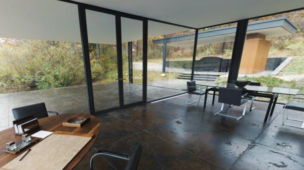 Batman's taste in modernist furniture revealed in Google maps tour of Bruce Wayne's house from Batman v Superman: Part 1