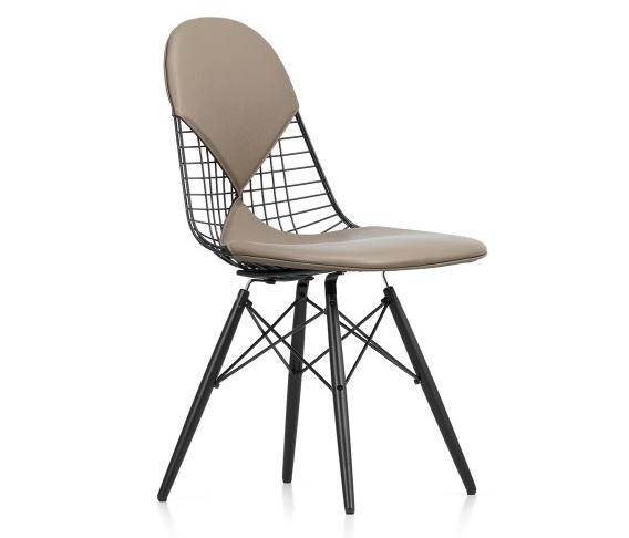 Vitra Eames DKW-2 Wire Chair - Bikini Upholstery