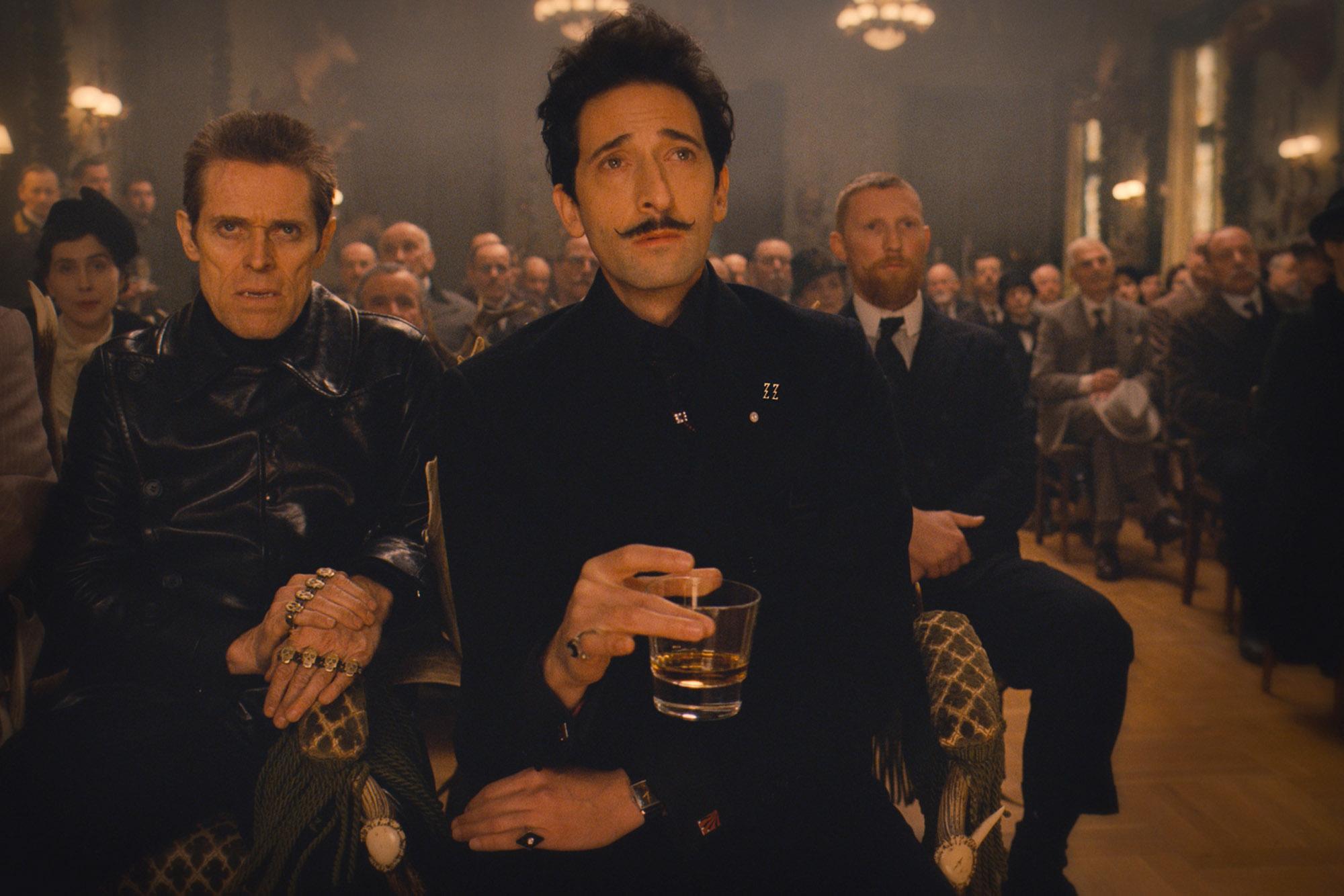 Dimitri in The Grand Budapest Hotel art in film