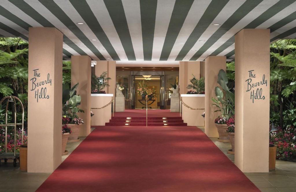 Beverly Hills Hotel interior wallpaper The Aviator