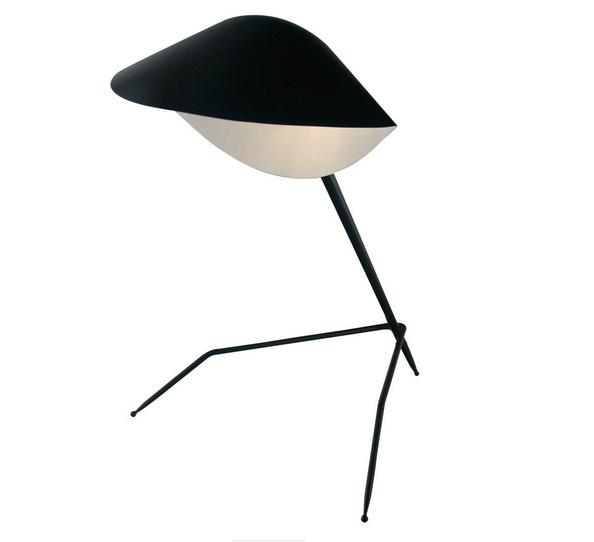 Tripod Desk Lamp by Serge Mouille