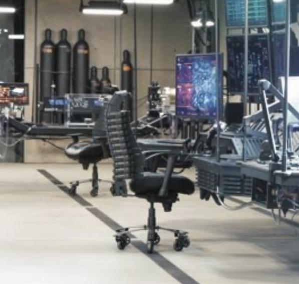 Batman S Desk Chair In Batman V Superman Film And Furniture