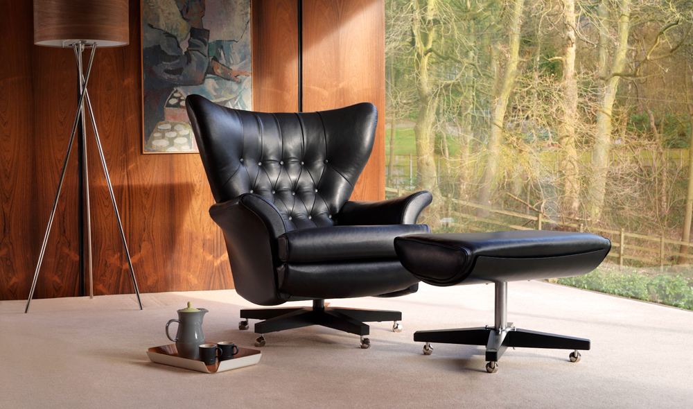 Most expensive chairs - #5 G-Plan 6250 Blofeld swivel chair - $16,250