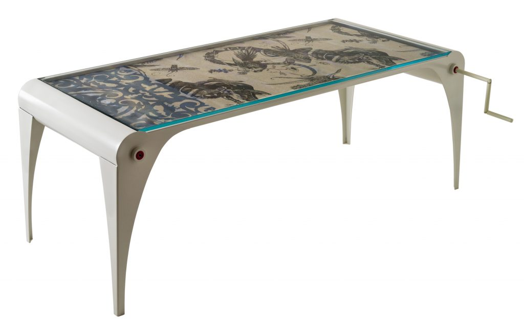 Scroll Table Designed By No Co As Seen In The Fourth Phase