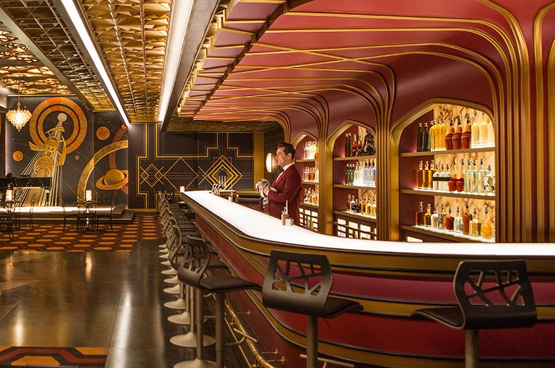 Passengers spaceship bar