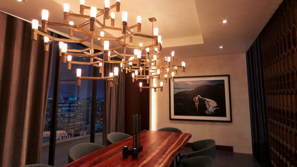 Own art from Christian Grey's apartment in Fifty Shades Darker: The Dining Room
