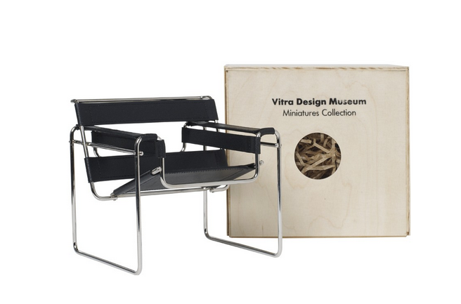 Vitra Miniatures collection: The Wassily chair
