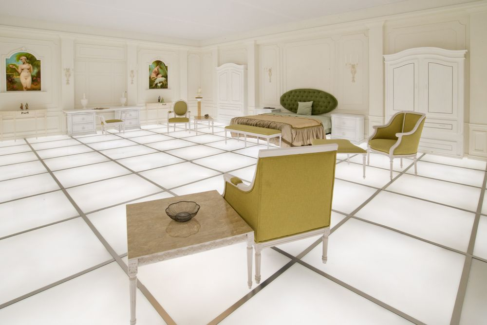 2001 A Space Odyssey Bedroom Film Set Recreated At 14th