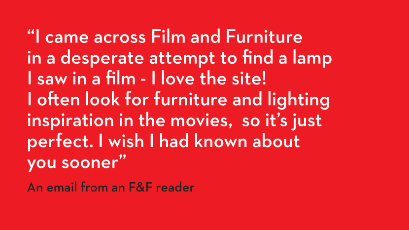 testimonial film furniture