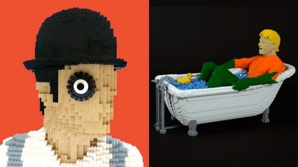The Art of the Brick: LEGO meets DC and A Clockwork Orange