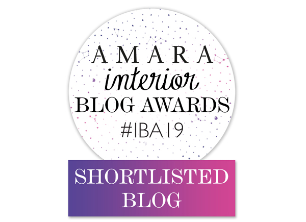 Best Design Inspiration Blog in the Amara Interior Blog Awards 2019