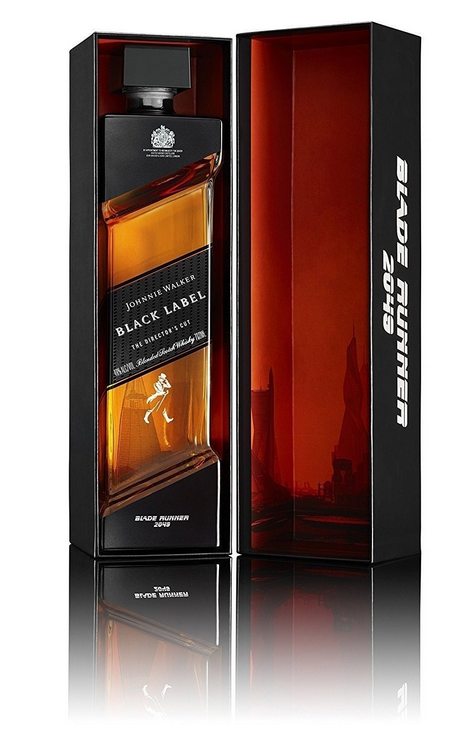 Johnnie Walker Black Label Blade Runner whisky (limited edition, new)