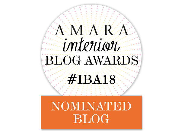 Best Design Inspiration Blog in the Amara Interior Blog Awards 2018