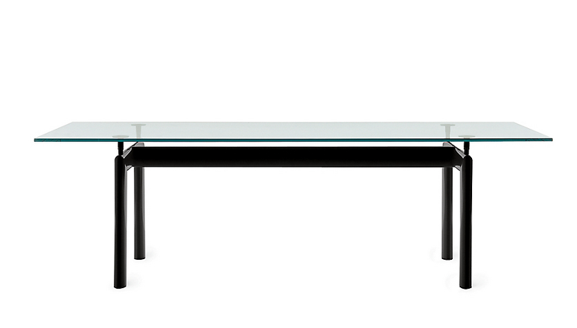 Batman's Le Corbusier dining table