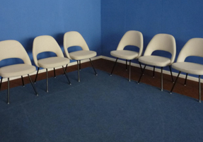 saarinen-conference-chair-set-6-vintage-store-size
