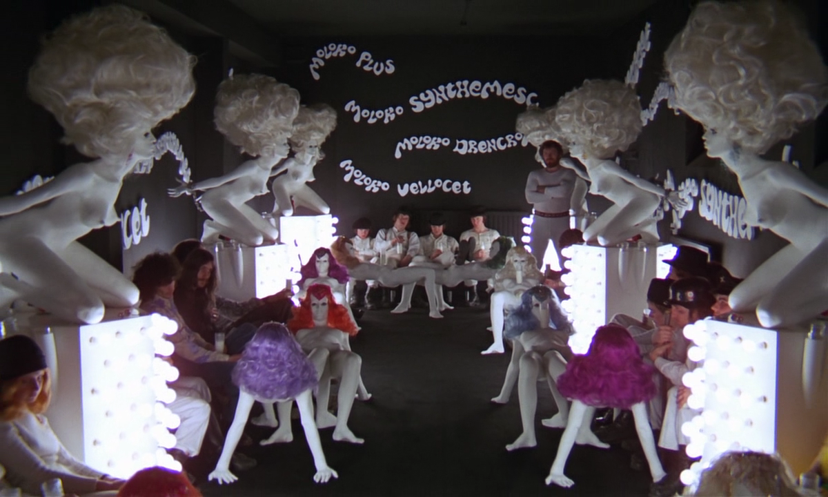 a clockwork orange korova bar