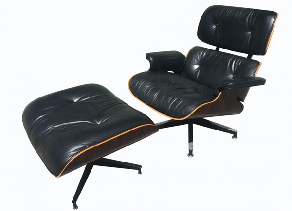 Eames Lounge Chair Pamono Vintage 600435