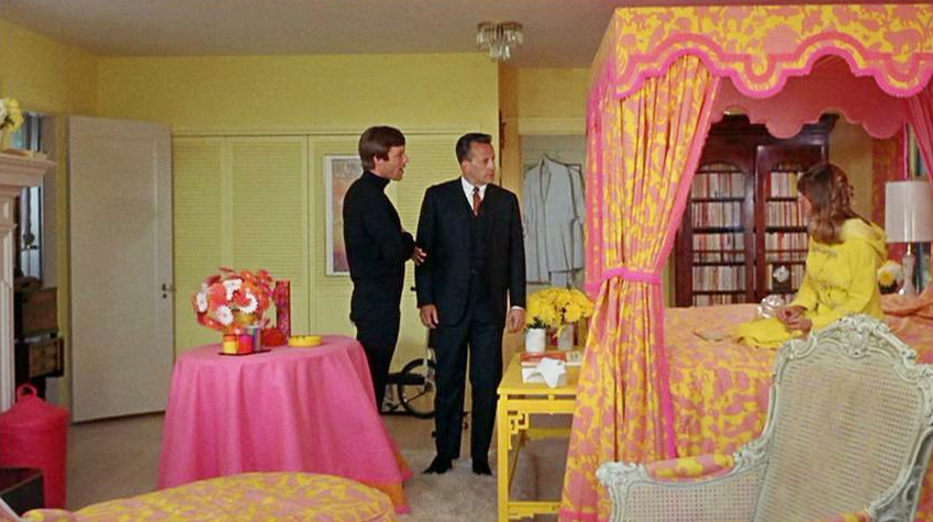 Petulia (1968) with film set decoration by David Hicks