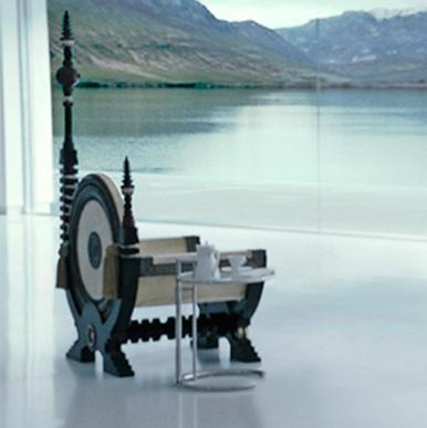 Carlo Bugatti Throne Chair Film And Furniture