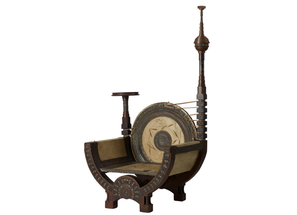 Carlo Bugatti Throne Chair Film And Furniture
