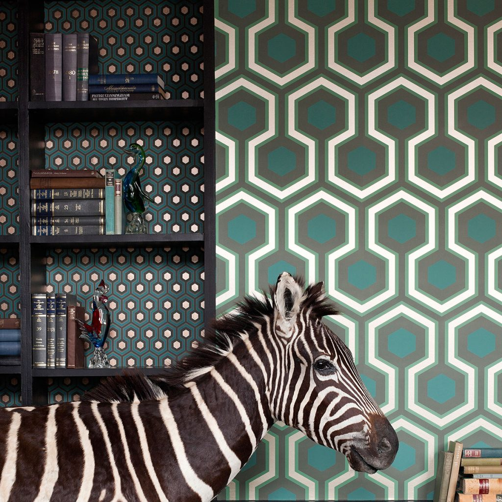 Cole & Son Hicks wallpaper design, available from Wallpaper Direct.