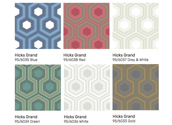 Hicks Grand Wallpaper The Same Design As The Overlook Hotel Carpet Seen In The Shining Film And Furniture