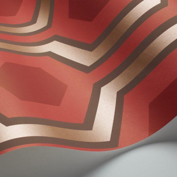 david-hicks-wallpaper-the-shining-hexagon-red