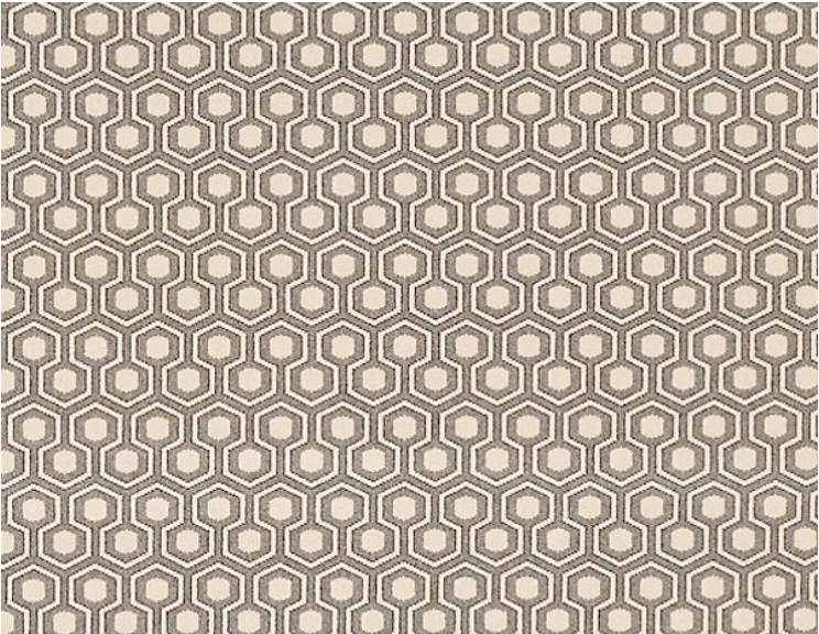 Hexagon House carpet from Ashley Hicks
