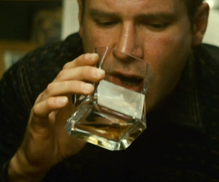 Blade Runner glass whisky tumbler (gift boxed single glass, 37cl)