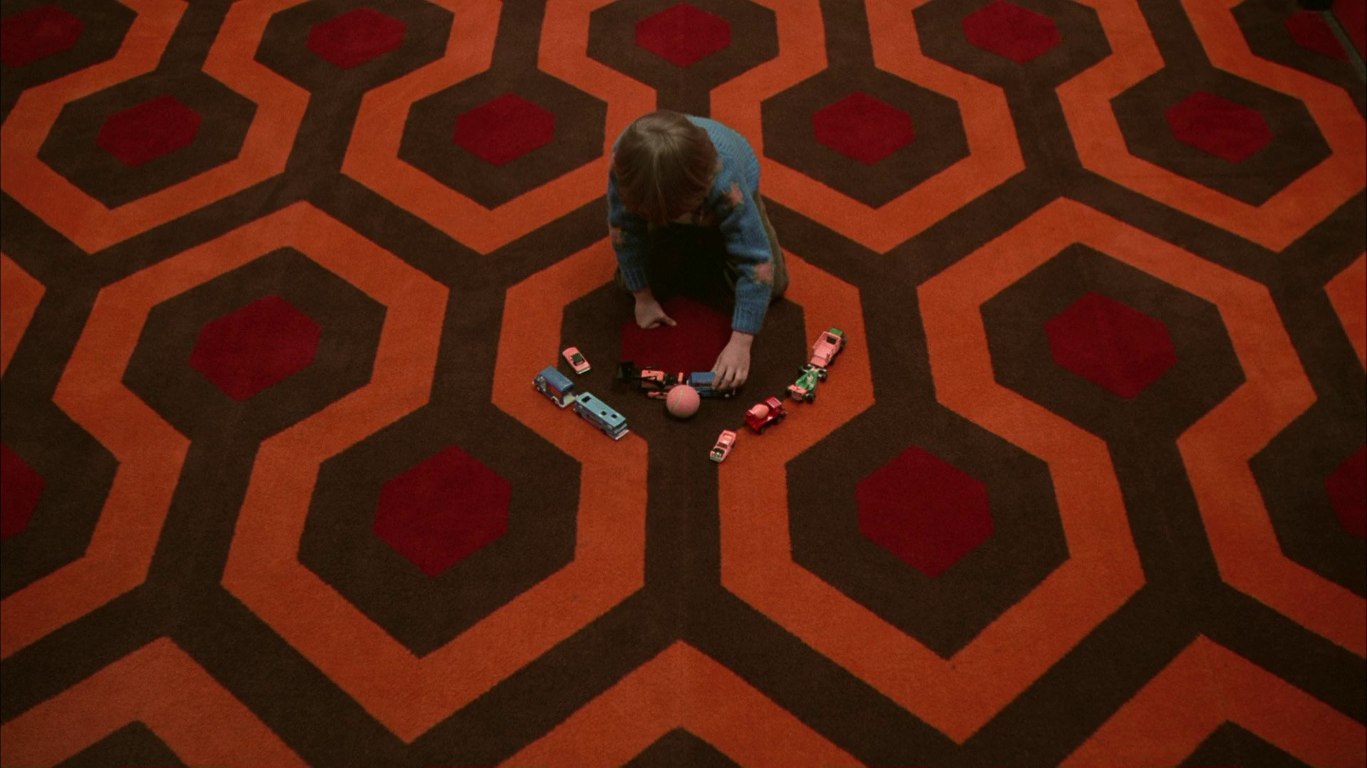 Checkmate The Story Behind Kubrick S Carpet In The Shining Revealed Film And Furniture