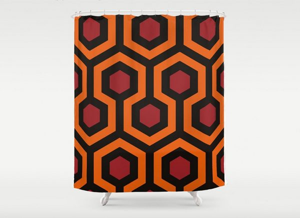 the-shining-hexagon-shower-curtain