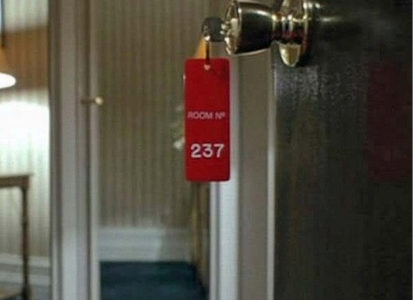 The Shining Room 237 Overlook Hotel Key Fob