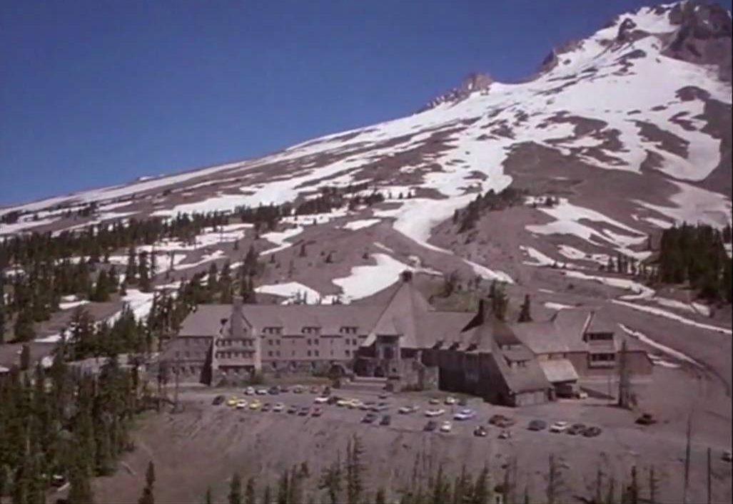 Timberline Lodge, the exterior of The Overlook Hotel in The Shining