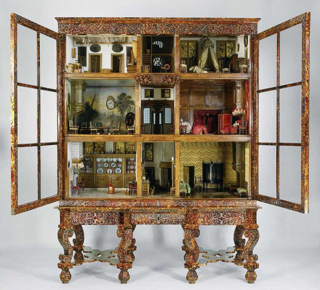 The real dolls' house of Petronella in The Rijksmuseum, Amsterdam