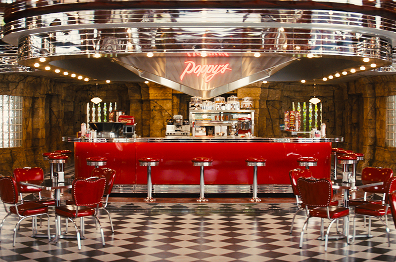 Poppy's diner in Kingsman: The Golden Circle