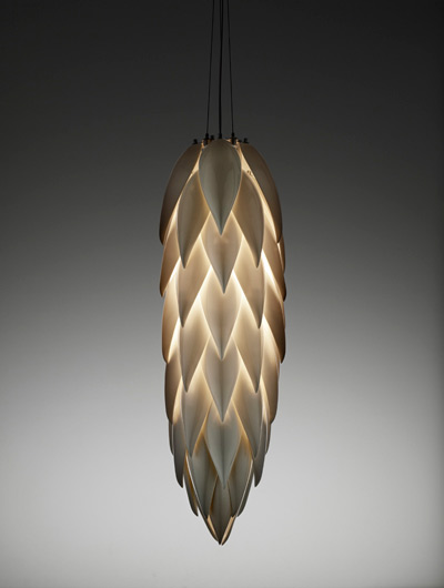 Aloe Shoot ceiling light by Jeremy Cole as seen in Fifty Shades Darker and Fifty Shades Freed